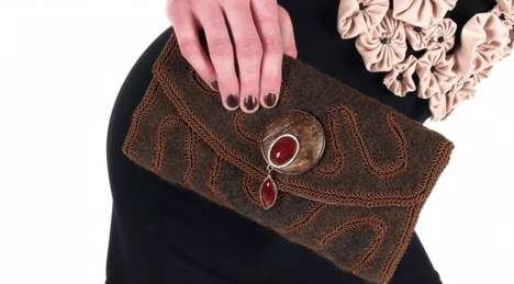 Luxury Dog Fur Purses - 'Fur You' is a Line of Handbags Made from Sterilized Dog Hair