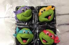Cute Confectionary Characters - These Japanese Rice Cakes are Decorated to Look Like Cartoons