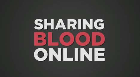 Social Blood Donation Campaigns - WHO's Blood Donation Campaign Encourages Social Sharing