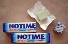 Teeth-Cleaning Chewing Gum - Japan's No Time Gum Product is a Quick Substitute for Brushing