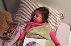 Artistic Sleeping Toddler Portraits - Life with Roozle Captures Creative Way to Put Children to Bed