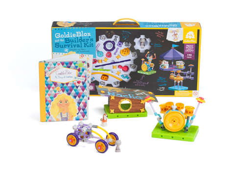 Girl Construction Toys