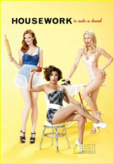 Retro-Modern Pinups - Desperate Housewives Channel '50s for TV Guide