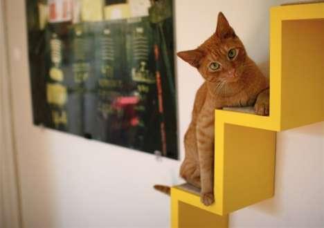 Integrated Feline Furniture