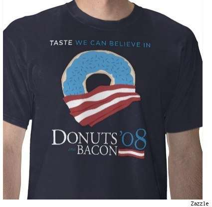 Obama-Biden Become Donuts and Bacon