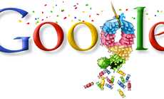 Celebratory Branding Changes - 6 Google Birthday Logos