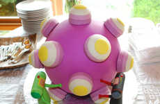 Luxury Desserts for Gamers - The Katamari Wedding Cake
