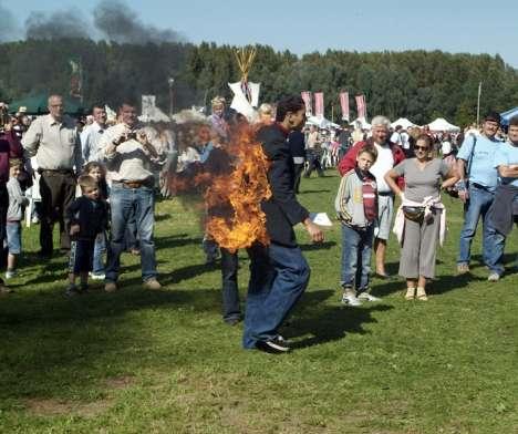 Human Fires for Awareness