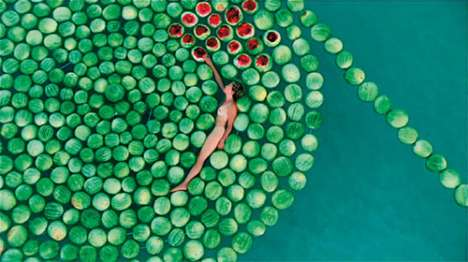 Swimming Naked With 500 Watermelons