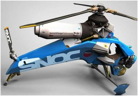 Igarashi Single Person Helicopter