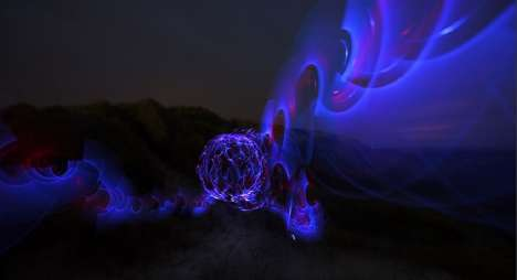 Light Art Performance Photography is a Snapshot of Brilliance
