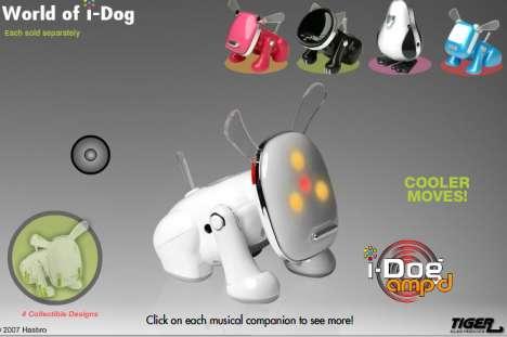 Dancing Robot Pets