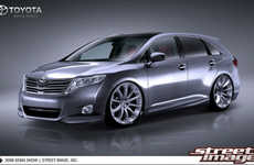SEMA Car Makeovers - The Tricked-Out Toyota Venza