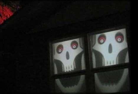 Spooky Window Treatments