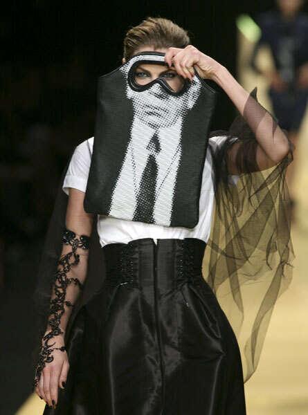 Using Handbags as Masks