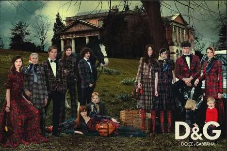 Family Portrait Fashion Ads