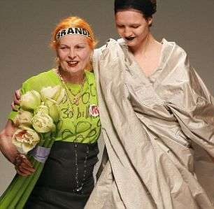 DIY Credit Crunch Fashion - Dame Vivienne Westwood S/S 2009