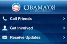 Hi-Tech Political Campaigns - Obama '08: The Official iPhone Application