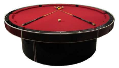 Personalized Round Billiards
