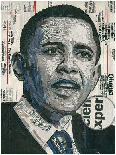 Political Magazine Collages