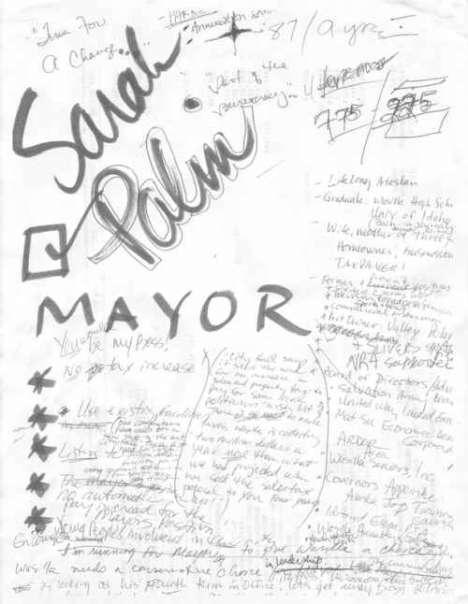 Political Doodle Interpretation