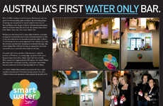Water-Only Bars - The Melbourne Smart Water Bar