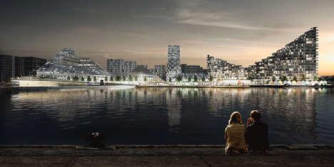 Undulating Island Architecture