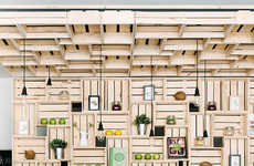 Minimalist Juice Bars - Pressed Juices Ups the Ante with Its Latest Storefront