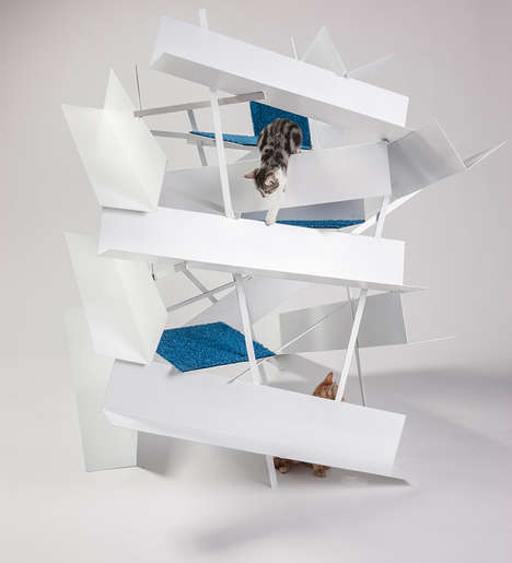 Eclectic Cat Shelters