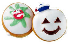 Ghoulish Anniversary Donuts - Celebrate the 30th Anniversary of Ghostbusters with Decorated Donuts