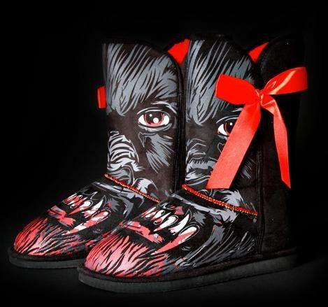 45 Spooky Shoe Designs