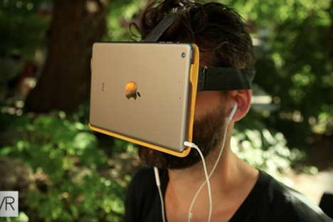 Virtual Reality iPads - AirVR is a Headset That Leverages iOS Retina Hardware