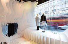 Collaborative Creative Storefronts - RIBA's Regent Street Shop Windows Project Features Teamwork