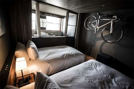 Cyclist-Catering Accommodations - Japan's Hotel Cycle is Designed with Bicycle Riders in Mind