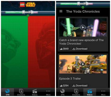 Mashup Movie Games - The LEGO Star Wars App Lets You Choose the Ending For Your Own Short Film