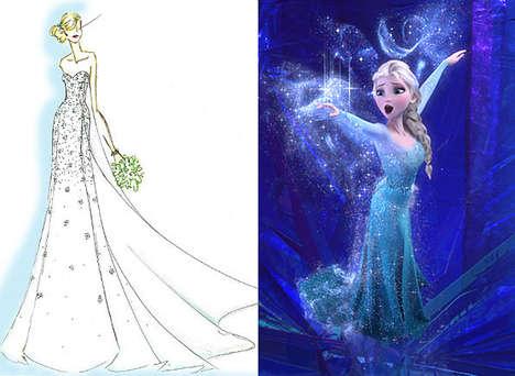 Disney Princess Bridal Gowns
