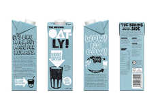 Oat-Based Milks - Oatly's Oat Drinks Appeal to Those with Allergies and Lactose Intolerance