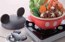 Disney Character Cookware - These Japanese Food Pots are Shaped Like Mickey Mouse and Friends