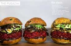Vegan Berry Burgers - The Fugazim is a Great Vegetarian Burger Option That's Full of Flavor