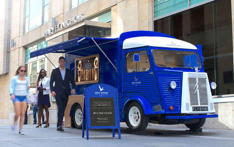 Automotive Martini Bars - Grey Goose's Bar on Wheels Will Take a Mixologist Across the Country
