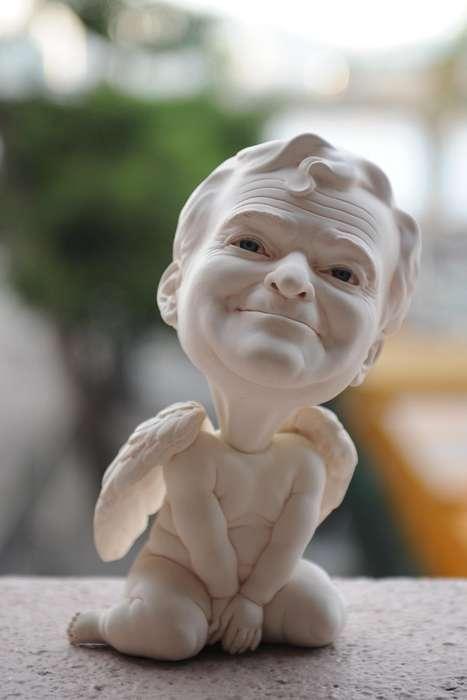 Angelic Actor Sculptures