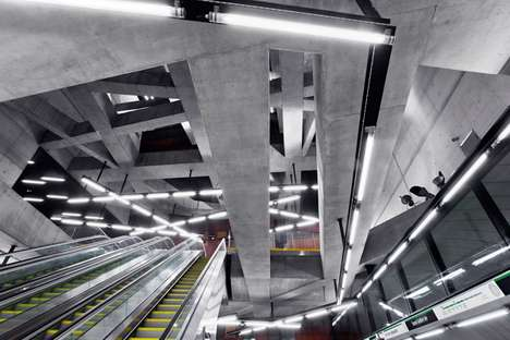 Industrial Metro Stations