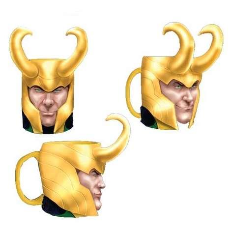 Horned Villain Mugs