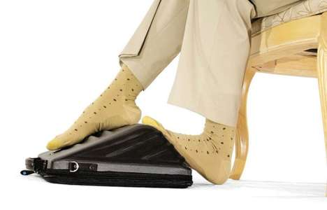 Foot Massaging Computer Covers