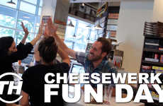 Cheesy Trivia Eateries - Trend Hunter Staff Tested Their Food and Trivia Knowledge at Cheesewerks