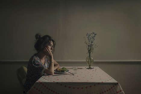 Poignant Heartbreak Portraits