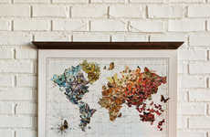 Colorful Butterfly Maps