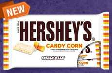 Candied Corn Chocolates - The Hershey's Candy Corn Chocolate Bar is a Great Thanksgiving Treat