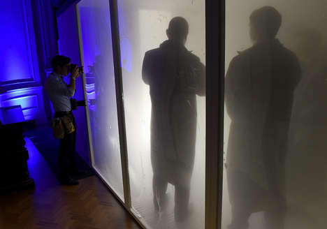 Whisky-Powered Steam Rooms - Johnnie Walker Blue Creates One-of-a-kind Whisky Cloud