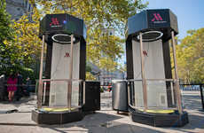 Travel Simulation Booths - Marriott Hotel Shares a 4D Virtual Reality Travel Experience with Guests